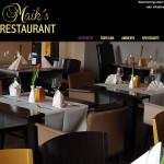 Webdesign, Gestaltung, Flyer & Speisekarten Maiks Restaurant