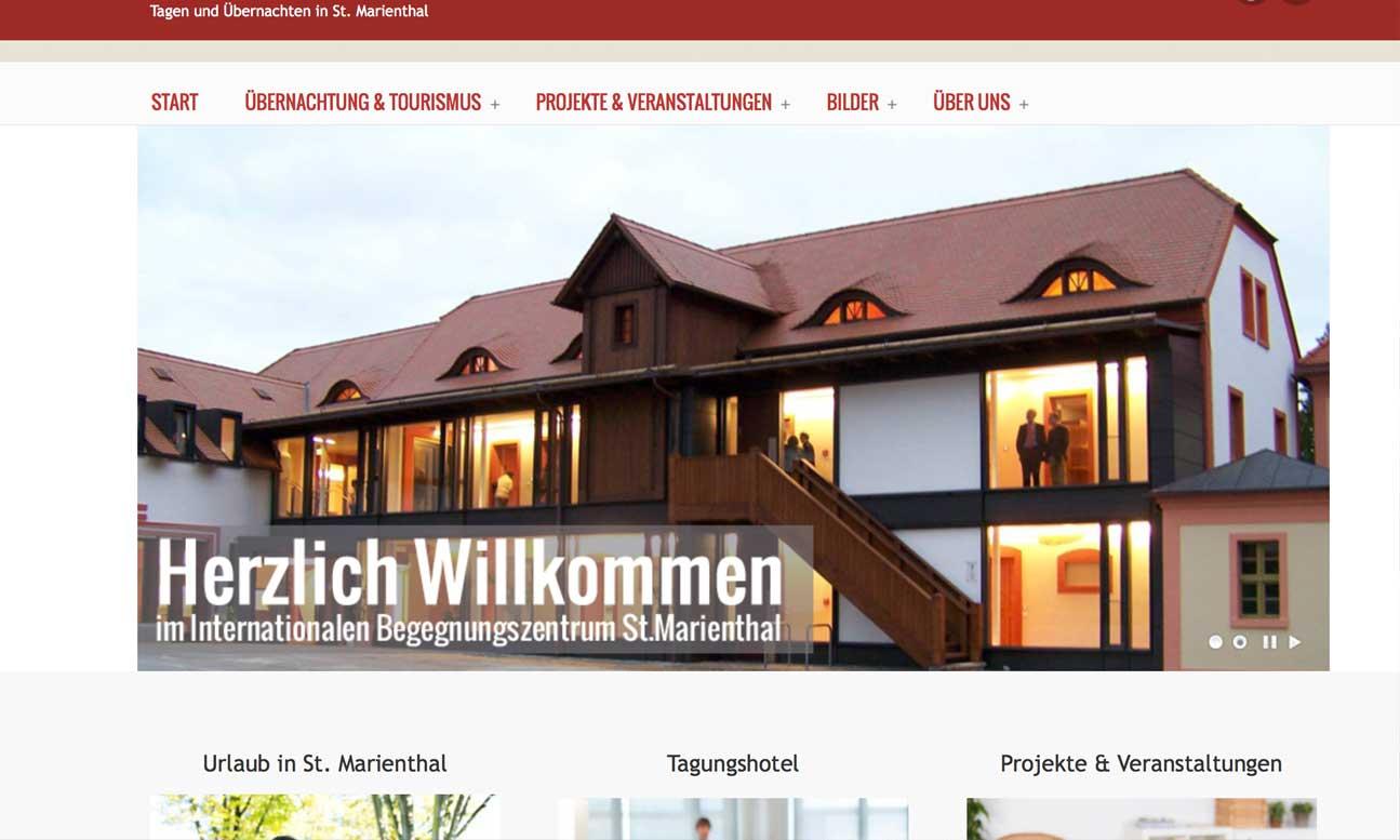 Konzept & Webdesign IBZ-Marienthal in Ostritz